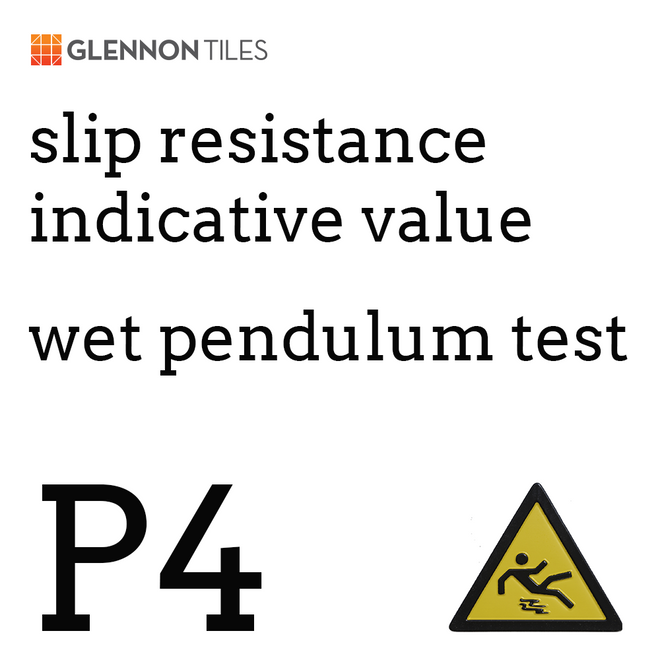 99: Slip Resistant Wet Pendulum Test P4 Or Better (Indicative Value)