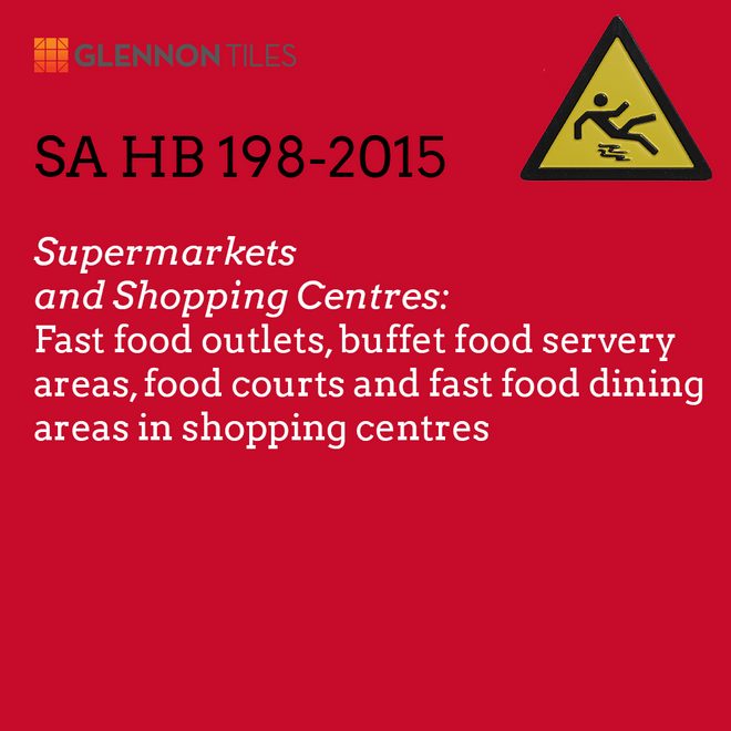 HB198-2015: Supermarkets And Shopping Centres: Fast Food Outlets, Buffet Food Servery Areas, Food Courts And Fast Food Dining Areas In Shopping Centres