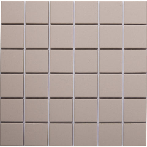 Bauhaus GT06053 50x50mm unglazed matt wall & floor tile