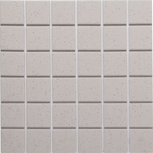 Bauhaus GT06057 50x50mm unglazed matt wall & floor tile - lightly speckled