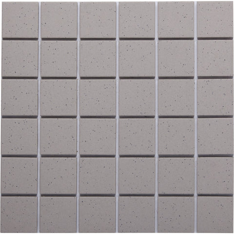 Bauhaus GT06060 50x50mm unglazed matt wall & floor tile - lightly speckled