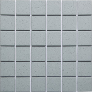 Bauhaus GT06054 50x50mm Unglazed Matt Wall & Floor Tile - Lightly Speckled