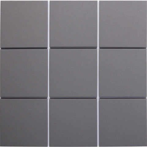 Bauhaus GT06001 100x100mm unglazed matt wall & floor tile
