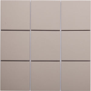 Bauhaus GT06006 100x100mm unglazed matt wall & floor tile