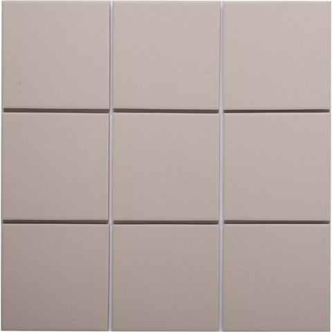 Bauhaus 908 100x100mm Unglazed Matt Wall & Floor Tile