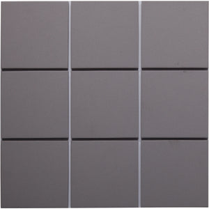 Bauhaus 911 100x100mm Unglazed Matt Wall & Floor Tile