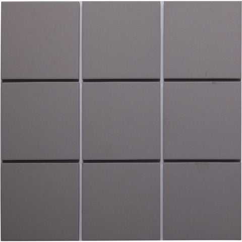 Bauhaus GT06625 100x100mm Unglazed Matt Wall & Floor Tile