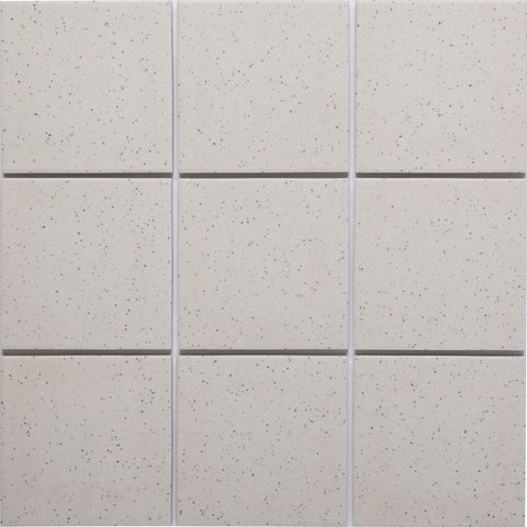 Bauhaus 931 100x100mm Unglazed Matt Wall & Floor Tile - Lightly Speckled