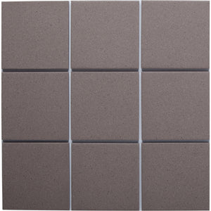 Bauhaus GT06017 100x100mm unglazed matt wall & floor tile - lightly speckled