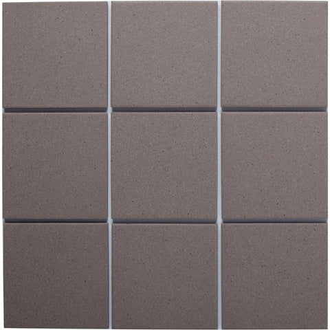 Bauhaus 941 100x100mm Unglazed Matt Wall & Floor Tile - Lightly Speckled