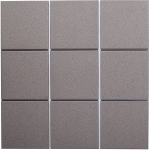 Bauhaus GT06018 100x100mm Unglazed Matt Wall & Floor Tile - Lightly Speckled