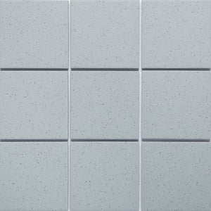 Bauhaus GT06019 100x100mm unglazed matt wall & floor tile - lightly speckled
