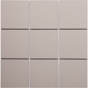 Bauhaus 946 100x100mm Unglazed Matt Wall & Floor Tile
