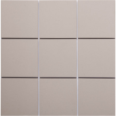 Bauhaus GT06481 100x100mm Unglazed Matt Wall & Floor Tile