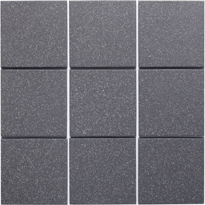 Bauhaus GT06602 100x100mm Unglazed Matt Wall & Floor Tile - Lightly Speckled