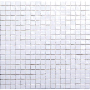 Spectra Glass series Coconut AA10 glass mosaic tiles