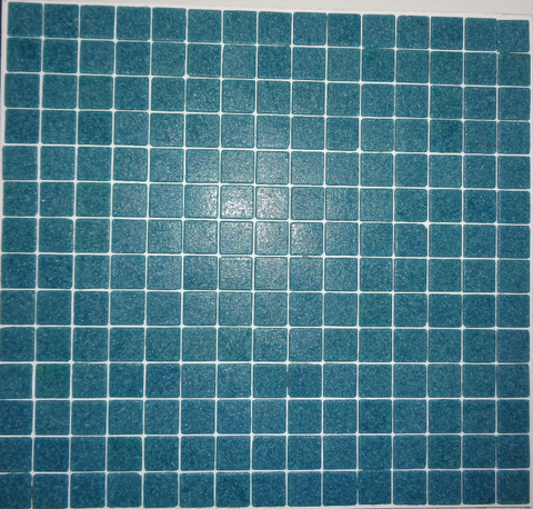 Glass Mosaic 20 Series GT06280 20x20mm Blue Green