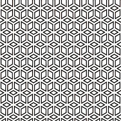 Black & White series GT06664 random patterns