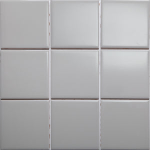 Bauhaus GT06615 100x100mm Glazed Gloss Dark Taupe Wall Tile