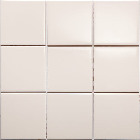 Bauhaus GT06617 100x100mm glazed gloss light salmon wall tile