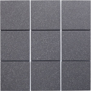 Bauhaus GT06689 100x100mm Unglazed Matt Wall & Floor Tile - Lightly Speckled