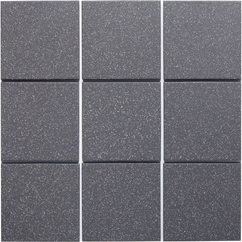 Bauhaus 953 100x100mm Unglazed Matt Wall & Floor Tile - Lightly Speckled