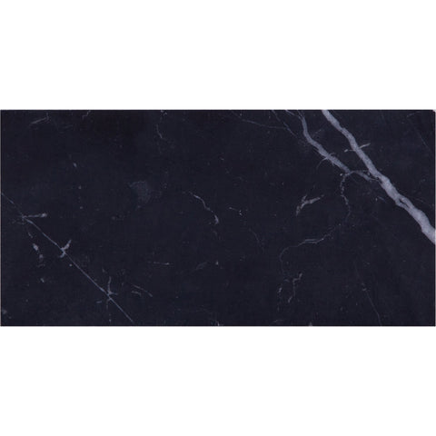 GE01139 Nero Marquina Honed Subway Tile 150x75x10mm
