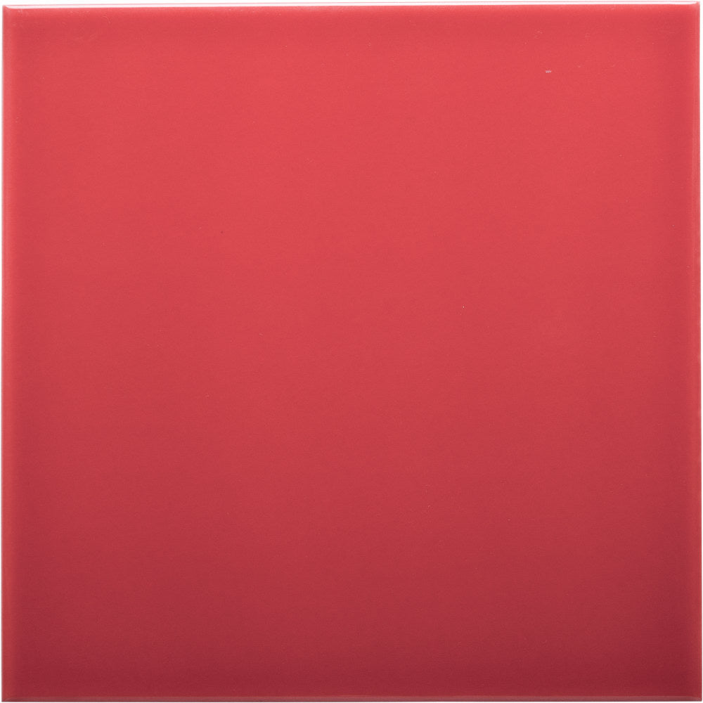 W100 series GT03886 gloss red 100x100mm wall tile