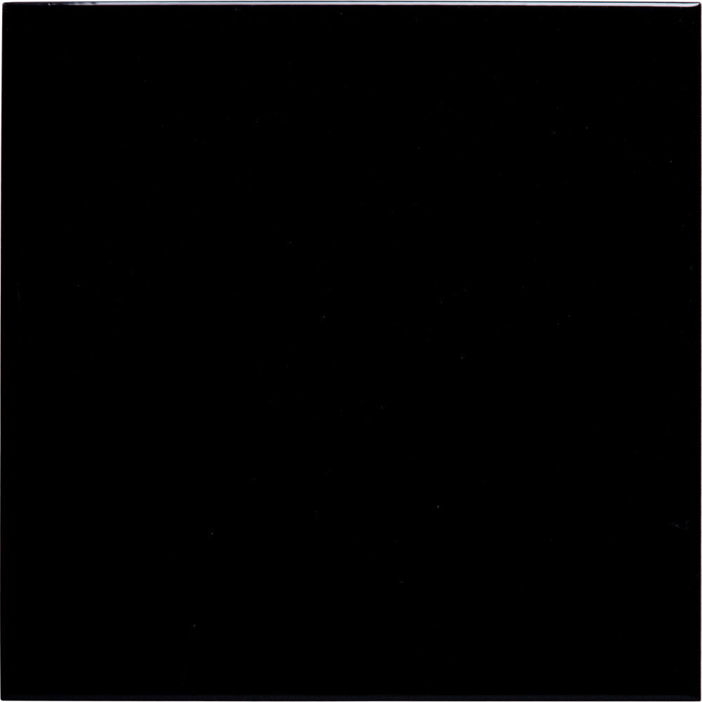 W100 series GT04381 Gloss Black 100x100mm Wall Tile