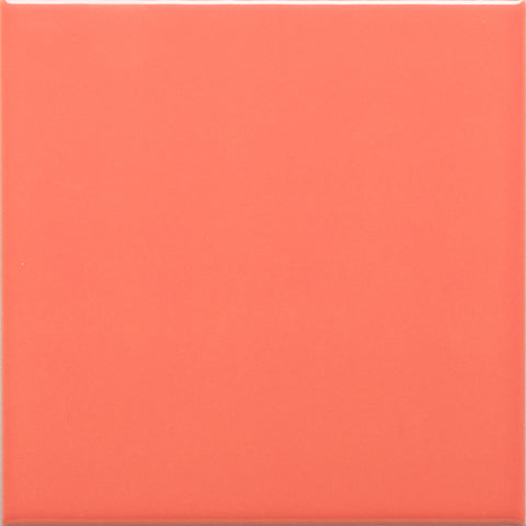 W100 series GT04385 100x100mm Wall Tile Tangarine
