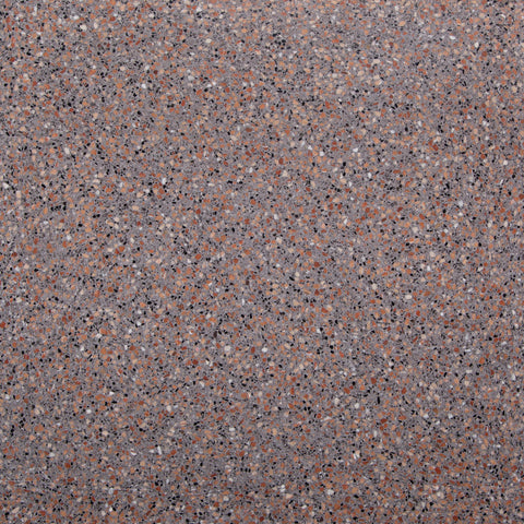 Terrazzo GT05074 400x400x18mm red brown grey polished