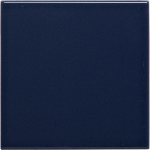 W200 series GT06137 200x200x7mm Glazed Ceramic Wall Tile Deep Cobalt Blue