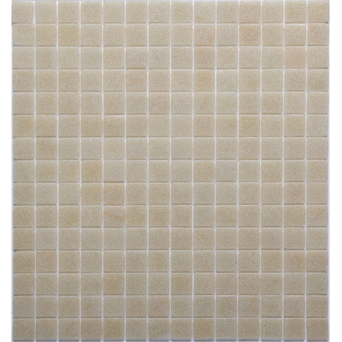Glass Mosaic 20 Series GT06284 20x20mm Cream