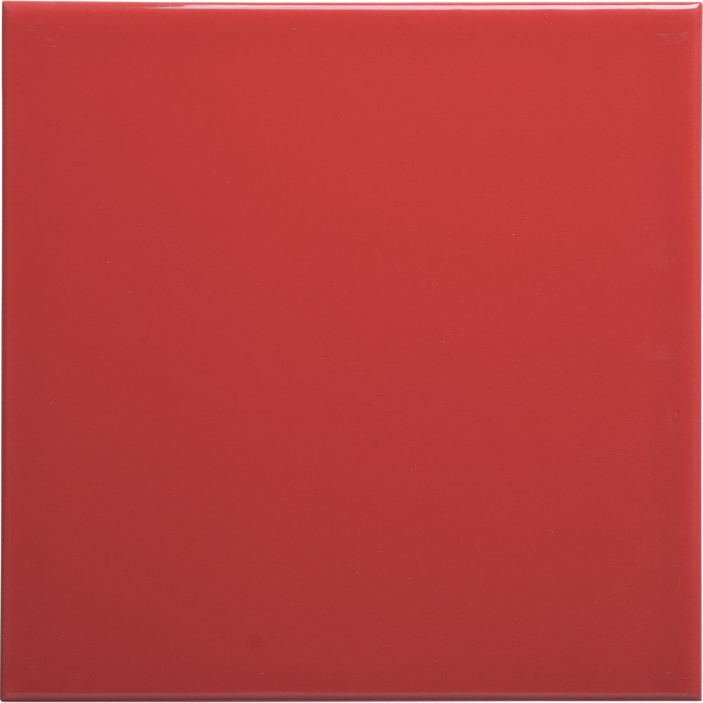 W150 series GT06386 150x150x6mm glazed wall tile gloss red