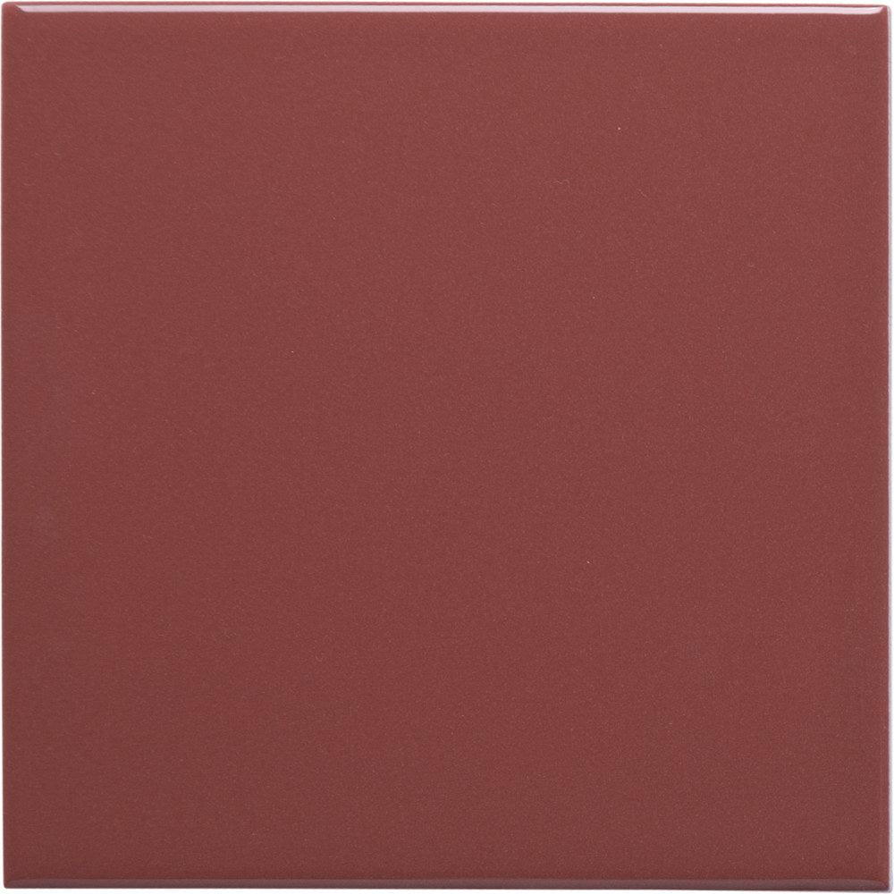 W100 series GT06574 100x100mm wall tile gloss red / burgundy
