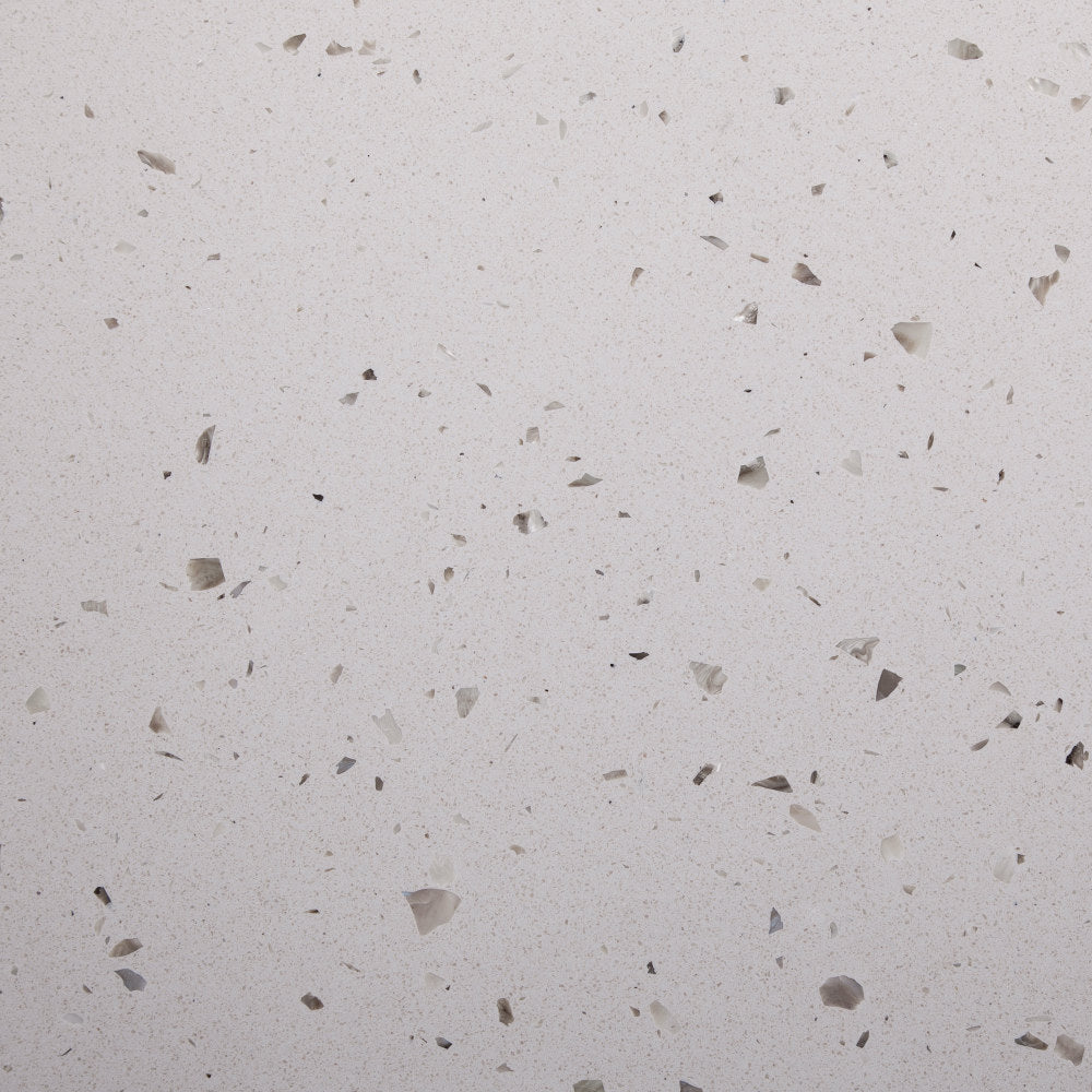 Marblestone series GT06609 agglomerated stone tile 400x400x12mm mixed grey polished