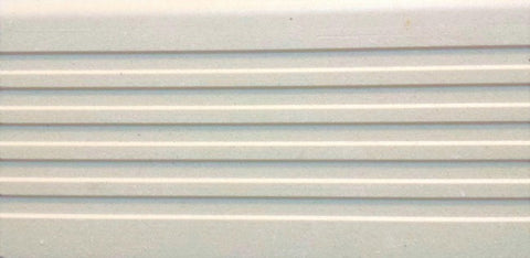 Step tread GT06763 super white unglazed porcelain 150x75x12mm P5 slip resistance