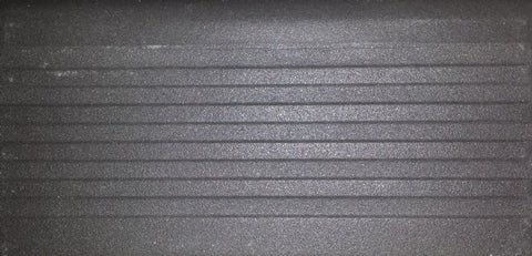 Step tread GT06782 super black unglazed porcelain 150x75x12mm P5 slip resistance