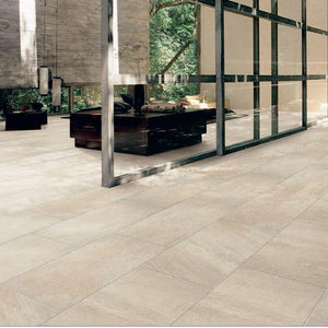 Pietra Series Crema Porcelain Tile 10mm Thick, Texture 00