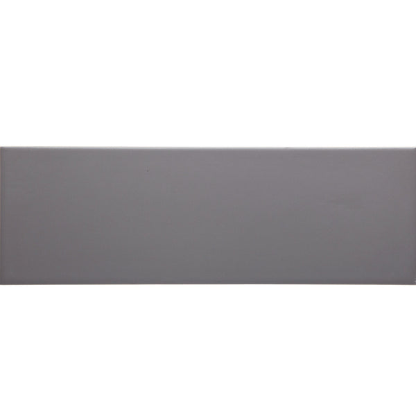 W310 series GT06517 300x100mm Glazed Ceramic Wall Tile Gunmetal Grey Matt