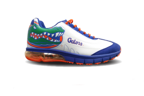 MEN'S GATORS Collegiate Sneakers-WHITE, DISCONTINUED ORDER NOW!