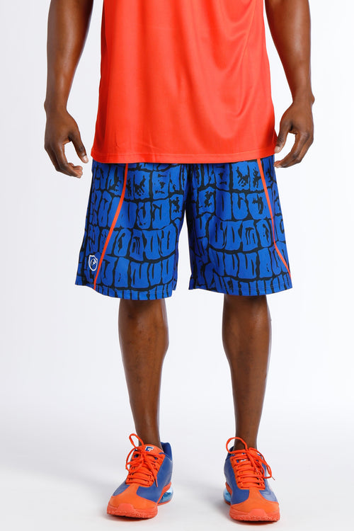 Men's Gator Shorts GSS- Royal Blue / Black