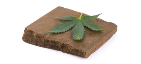 hash or hashish is a chunk of resin that has been stripped off of a live cannabis plant, it can be smoked as a concentrate on top of a bowl or just alone