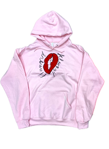 Baby Pink Always Hungry Hoodie