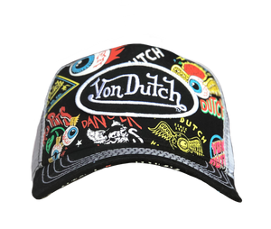 Von Dutch Flying Eyeball Trucker Hat