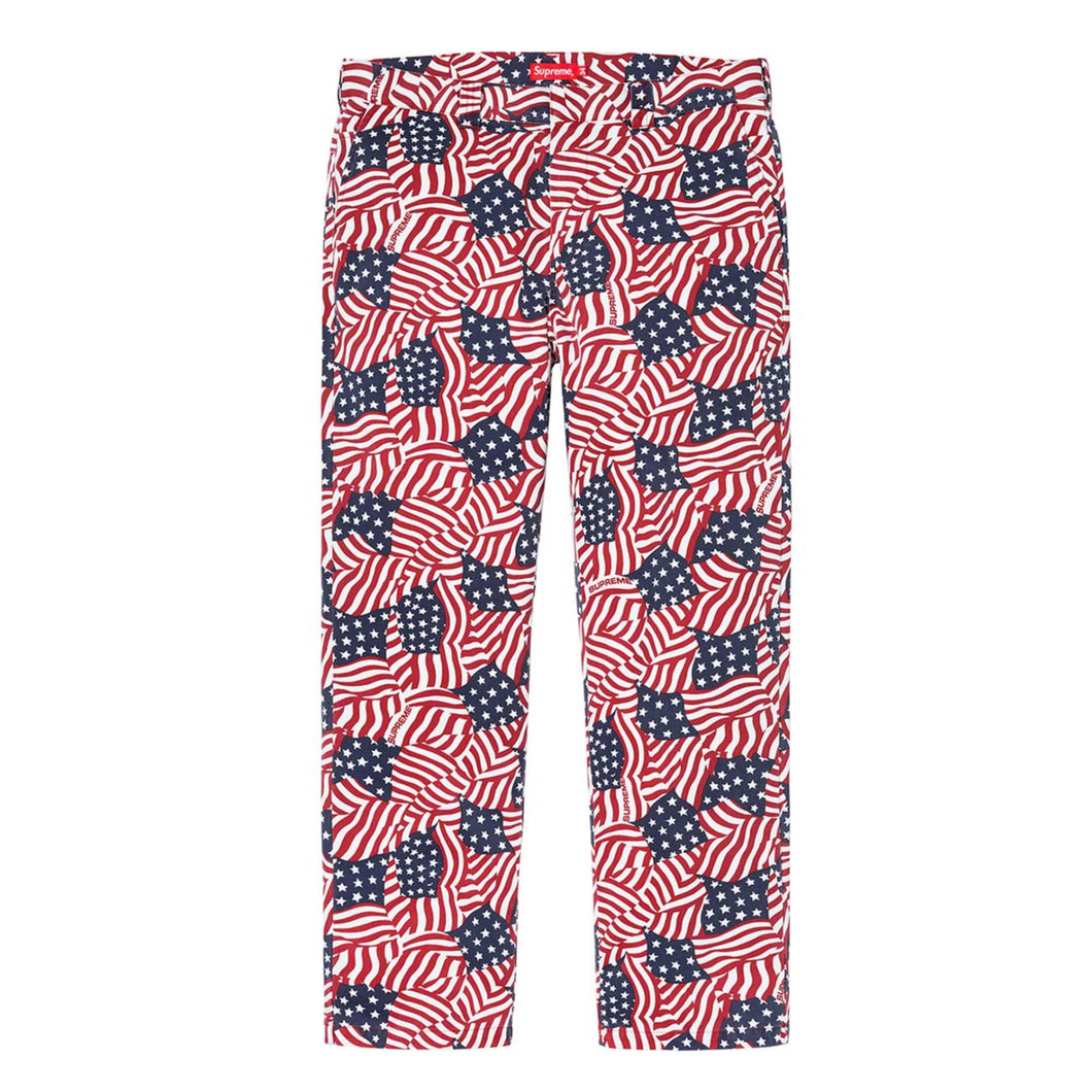Supreme American Flag Pants Size 32