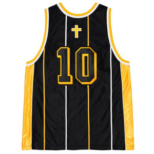 St. Supreme Basketball Jersey Medium