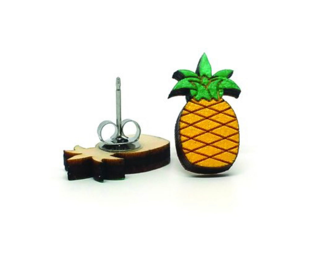 Tropical Sweetie Pineapple Earrings