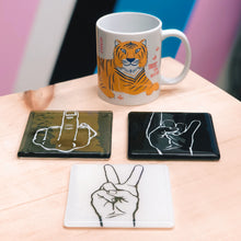 Middle Finger Coaster