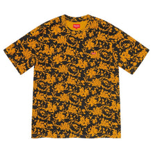 Supreme Small Black Floral Tee